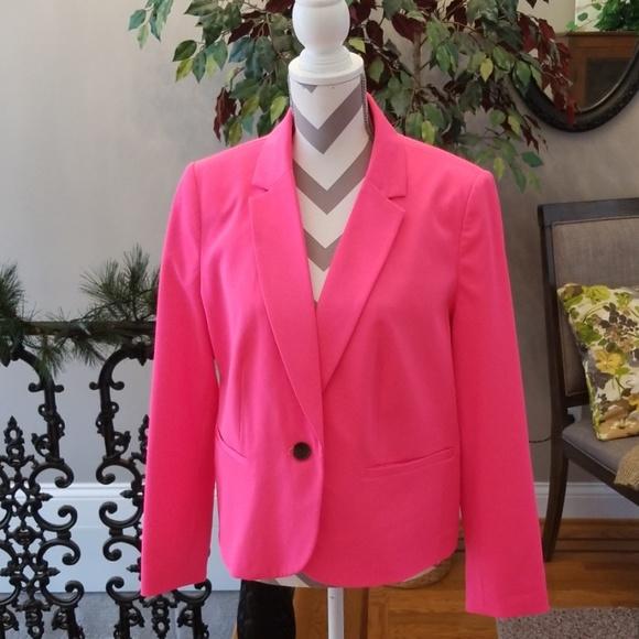 Worthington Jackets & Blazers - Hot Pink Vibrant Jacket